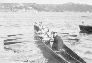 1920'ler. Serdümen Nejat - Halil Akpınar - Semine Evranos - Hasan Kerem