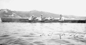 1926 yılında bir Üç çifte Serdümen Mehmet Ali, Hamla Halil Akpınar - Prova Kazım Karacadağlı - Sıvırya Hasan Kerem