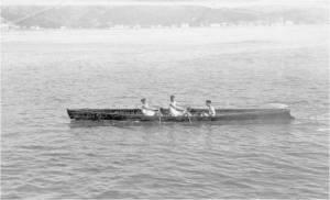 1927 yılında Emektar futası ile Müptedilerde birinci gelen Galatasaray İki çiftesi Serdümen Mehmet - Hamla Hasan Kerem - Sıvırya Kemal Şerbetçi