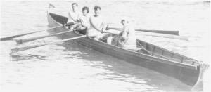 1928 İzzet Mecdi (serdümen bayan, Mecdi Hüsam'ın eşi) Hayri Demir - Nevzer Saner, İhsan Belor üç çiftesi