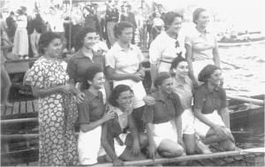 1930 lar bayan kürekçiler