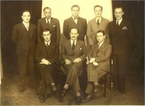 1930'lar Yönetim kurulu Suat Hayri Ürgüplü-Saim Gogen-Osman Müeyyet Binzet-Adil Yurdakul-Ömer Besim Koşalay-Muslih Peykoğlu-Bekir Macur-Sedat Ziya Kantoğlu