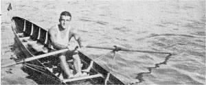 1930'lu yıllar - Tek çifte şampiyonumuz Yuvakim Karakaş