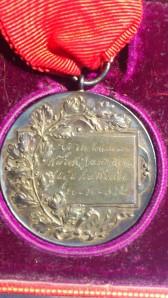 1932 Azra Reşatın kazandığı Madalyanın arka yüzü
