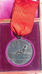 1932 Azra Reşatın kazandığı madalyanın ön yüzü