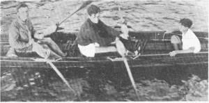 1933, 8 Eylül Salacak İstanbul şampiyonu olan Fethi Gürel -İlhan Ulagay - Bekir Macur iki çiftesi