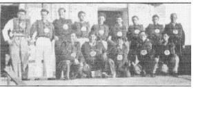 1933 Riva Seferine katılan kürekçiler