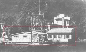 1935 yılından 1957 yılının 20 Mayısına kadar Deniz Sporlarının yapıldığı ve 1951 yılından itibaren sosyal faaliyetlerin başladığı Bebekteki lokal.
