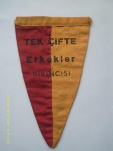 1941 Reha İren Birincilik Bayrağı ön
