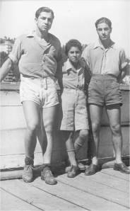 1943 yılının ünlü iki çiftes Serdümen  Sadi Karabulut - Hamla Turhan Azak - Sıvırya Selim Kılıççı