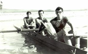 1967 8+Türkiye Şampiyonu Ahmet Şenkal, Cüneyt Günsel, Celal Gürsoy