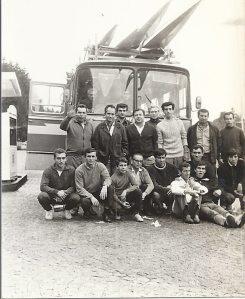 1967 Avrupa seyahati öncesi