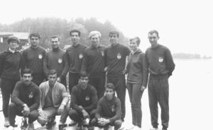 1967 Avusturya Villach-GS-Mehmet Ayata, Cüneyt Günsel, Erdal Günsel, remzi Tan, Ahmet Şenkal, Gültekin Türeli, Ahmet Baysan,,Emir Turgan, Yunus yılmaz