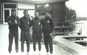 1967 Villach Ahmet Şenkal, Gültekin Türeli, Cüneyt Günsel, Memet Ayata