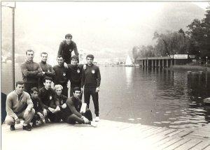 1967 Villach gölü kıyısı