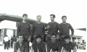 1967 yılı Ankara Mogan Emir Turgan-Remzi Tan-Erdal Günsel-Mehmet Ayata-Mehmet-Erdinç Karaer-Gültekin Türeli-Ahmet Şenkal