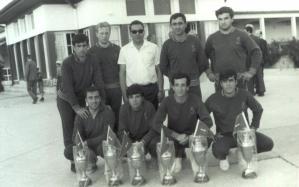 1967 yılı kazanılan kupalarla