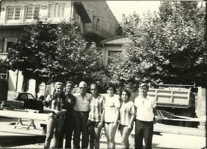 1968 Adnan Akıska Şampiyon Bayan Dört Tek ekibi ile