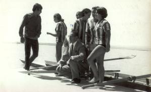 1968 Şampiyon Bayanlar Madalya Töreninde