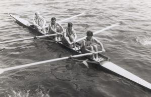 1968 İstanbul Şampiyonu Mehmet Ayata-Ahmet Şenkal-Gültekin Türeli-Remzi Tan