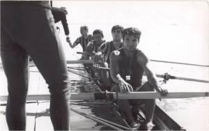 1968 Yılı Galatasaray dörtteki Remzi Tan-Gültekin Türeli-Ahmet Şenkal-Mehmet Ayata