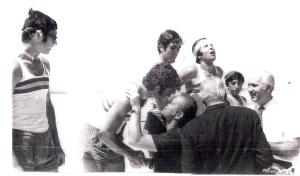 1970 4+ Celal Gürsoy, Mehmet Ayata, Ahmet Şenkal , Erdinç Karaer, Dümenci Hüseyin Özer, Eftal Nogan, Yusuf Dayı