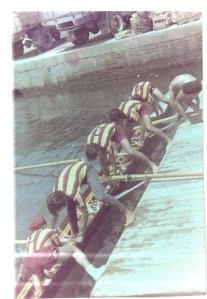 1970 4+ Kartal. Dümenci Hüseyin Özer, Erdinç Karaer, Ahmet Şenkal, Mehmet Ayata, Celal Gürsoy