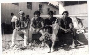 1970 4+ Mogan Gölü. Celal Gürsoy, Mehmet Ayata, Ahmet Şenkal , Erdinç Karaer, Dümenci Hüseyin Özer