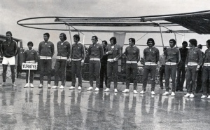 1973 Cumhuriyetin 50 yılı Uluslar Arası Yarışları Seremonisi.