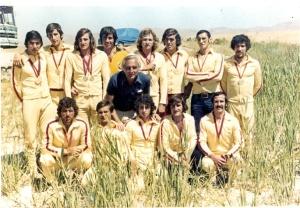 1974 Recep-Tayfun-Mehmet-Emir- İlter Tekand-Ahmet Moralı-Ahmet Şenkal-Celal-Fethi-Refik-Yusuf-Yunusz-Orhan-Faruk.
