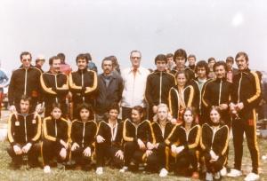 1977 Kürekçiler ve Şube Kaptanı Ali Ruhi Almedar