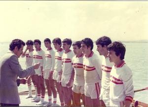 1978 Türkiye Şampiyonu Genç 8+Hasan Yılmaz, Fatih Gökşen, Kenan Selçuk, Yalçın Kaya, Mehmet Oktar, Yusuf Oktar, Bahri Kaya, Orçun Yılgör, Dümenci Erol Sağır.