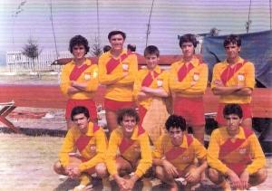 1979 8+ Osman, Fatih, Dm. Can, Yalçın, Mehmet, öndekiler Cem, Can, Tuğrul, Hasan.