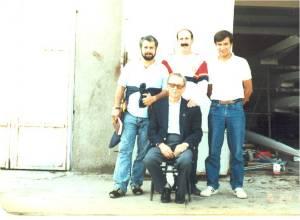 1980 Yunus Yılmaz, Faruk Algur, Yusuf Oktar, Emin Gezgöç