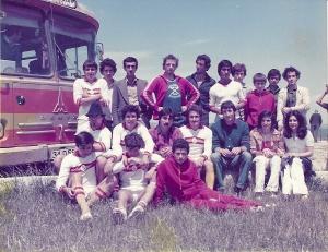 Resim5 1978 Küçükçekmece kampı