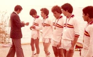 Resim7 1978 Yıldızlar 1.si 4+ Cem Tanlar, Can Kantar, Tuğrul Günal, Erdal Seremetli, Dümenci Çetin